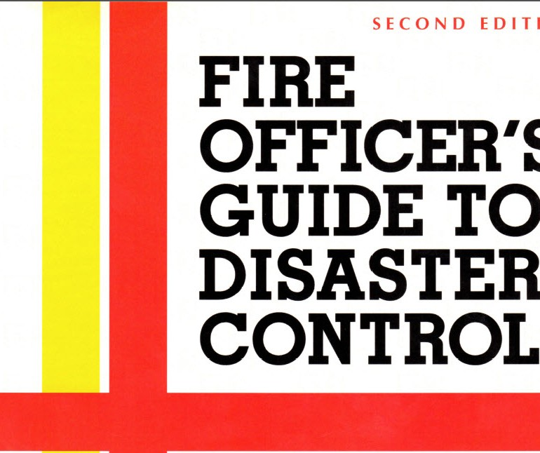 "Fire Officer's Guide to Disaster Control, Chapter 13, ""Enemy Attack and UFO Potential"""