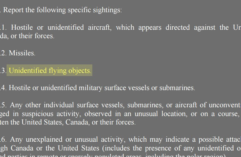 Air Force Instruction 10-206 – The Vanishing UFO Regulation