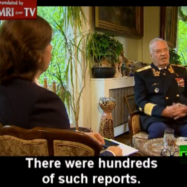 Former Soviet Navy Commander: Americans Only Respect the Powerful; As Submarine Commander, I Saw UFO
