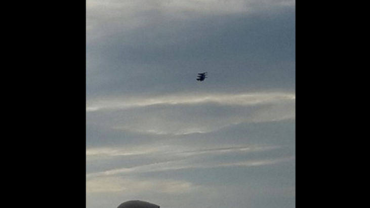 Does Video of Black Object over Scotland Show UFO?