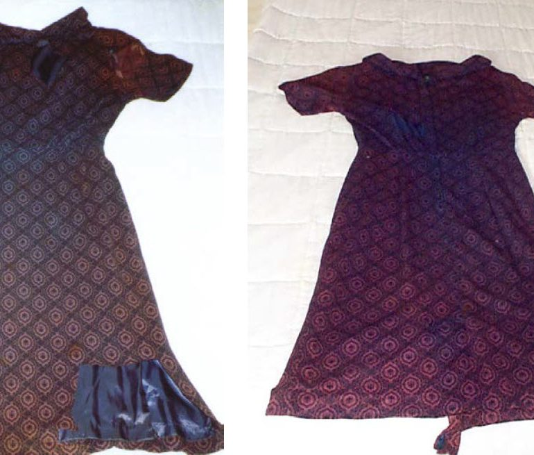 Analysis of the Dress Worn by Betty Hill During the September 19, 1961, Abduction in New Hampshire