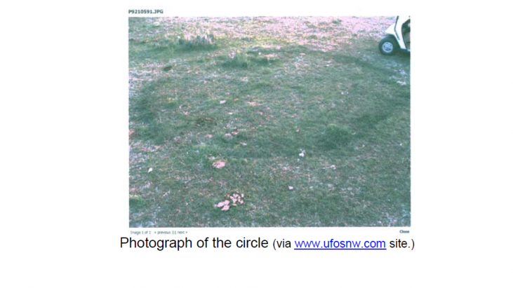 Analysis of Soil that May be Related to a UFO Landing Site (Roanoke Texas, October 2, 2008)