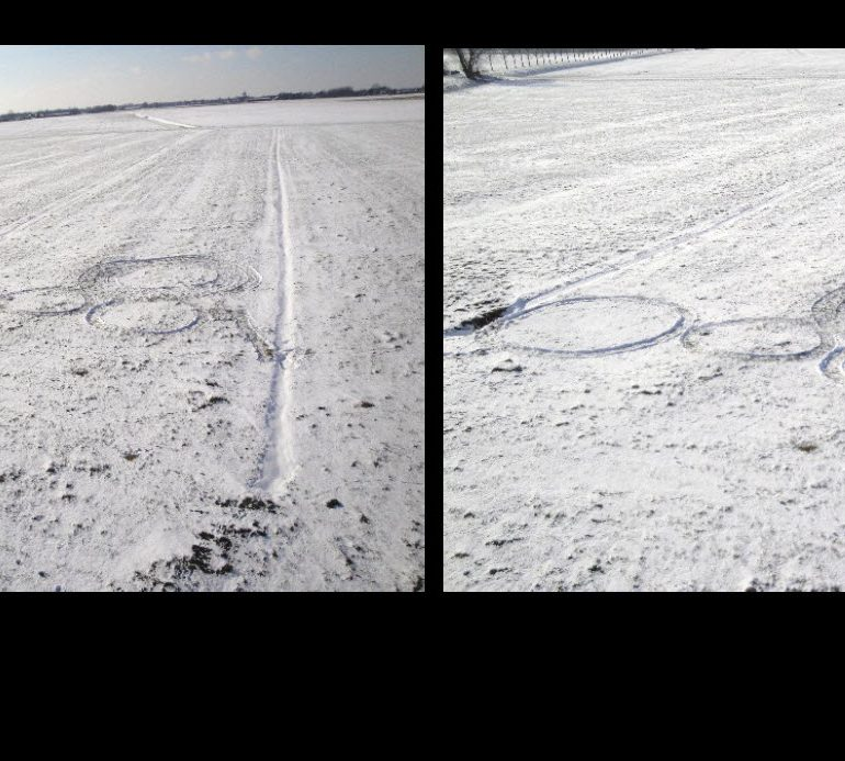 Analysis of Samples from a Snow Formation (Holland, February 2, 2010)