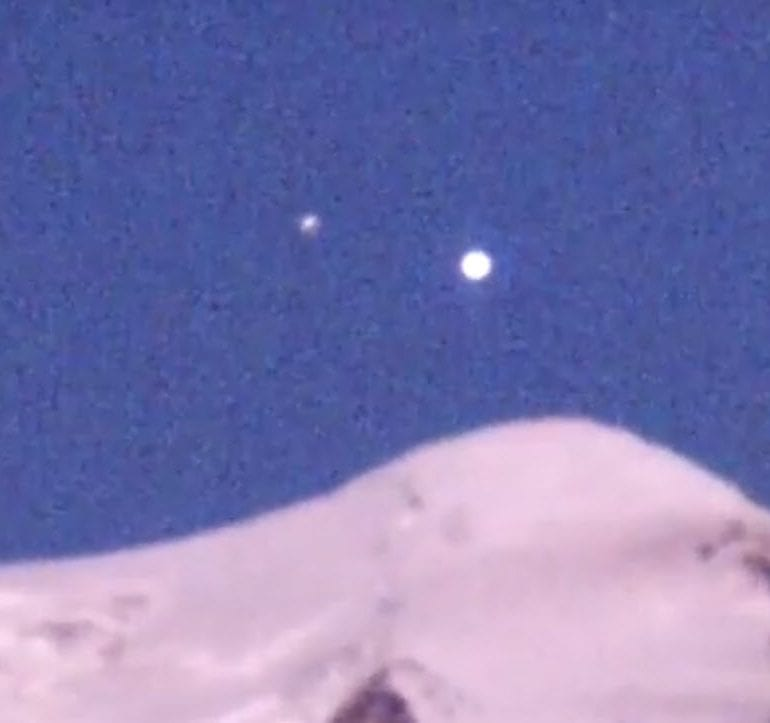 UFO over Mt. Adams, 7/20/17