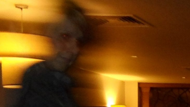 Ghost Captured on Photograph, taken in Leicester, United Kingdom