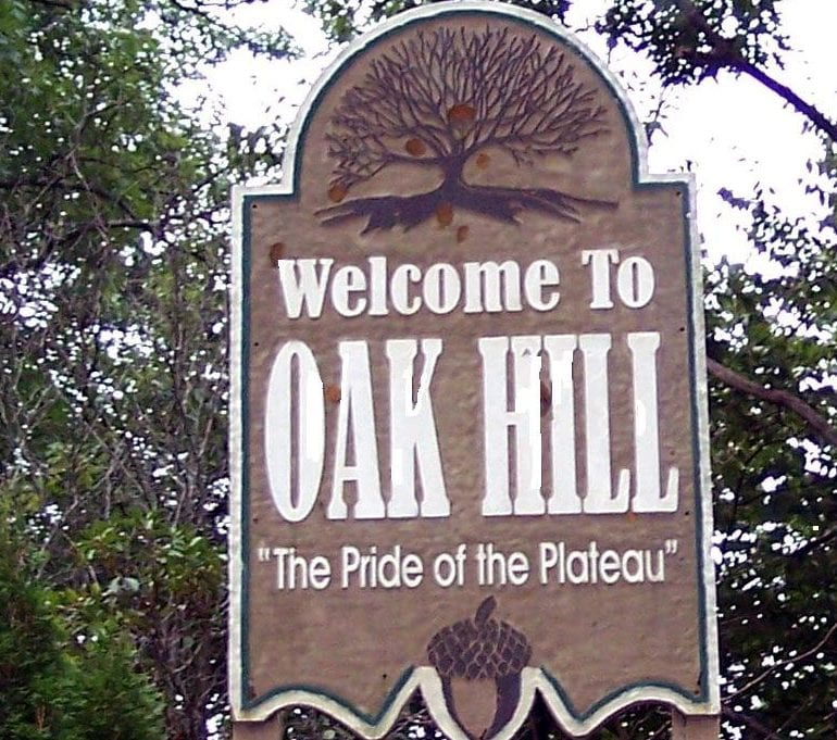 UFO over Oak Hill, West Virginia – Approximately 2008