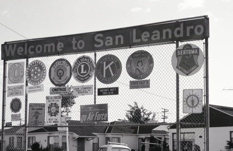 UFO over San Leandro, California – 2001