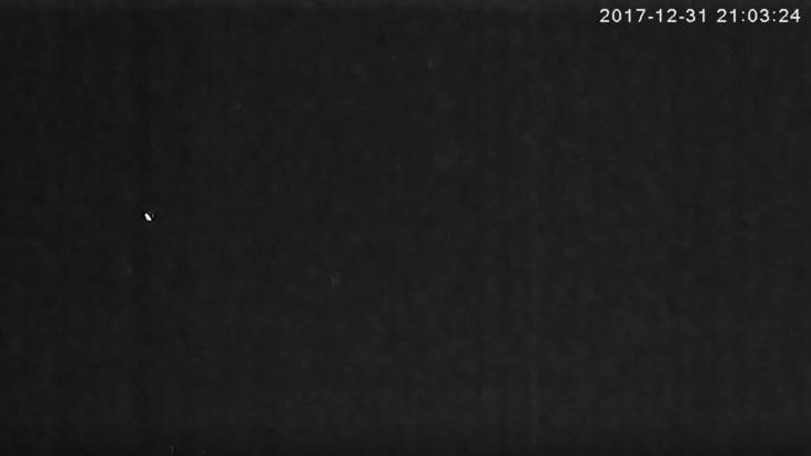 UFO Caught on Camera over Buffalo, New York – December 31, 2017