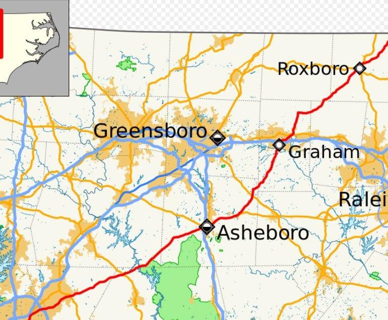 UFO over Asheboro, North Carolina – February 23, 2018