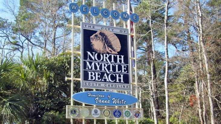 UFOs over North Myrtle Beach, South Carolina – July 9th, 2018