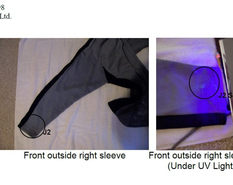 Analyses of Two Experiencers' Clothing Worn During an Abduction (Salt Fork State Park, Ohio)