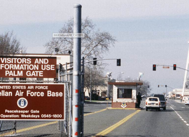 UFO Sighting Near McClellan Air Force Base – July 20, 1983