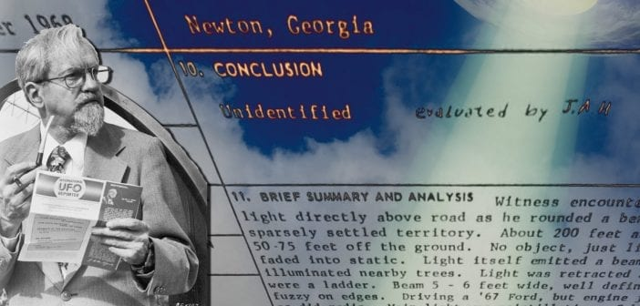 Project Blue Book: Newton, Georgia — November 23, 1968