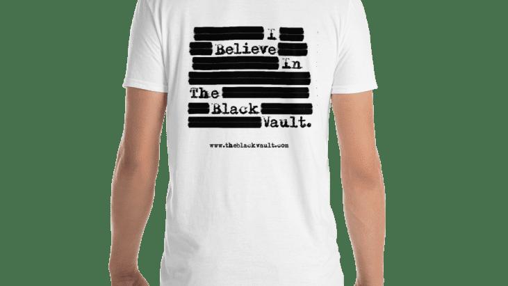 """I Believe in The Black Vault"" Unisex Basic Softstyle T-Shirt   Gildan 64000"