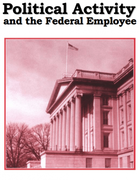 Political Activity and the Federal Employee