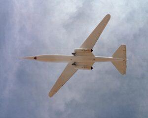 NASA AD-1 In Flight