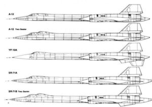 A-12 Sketches - Source: CIA