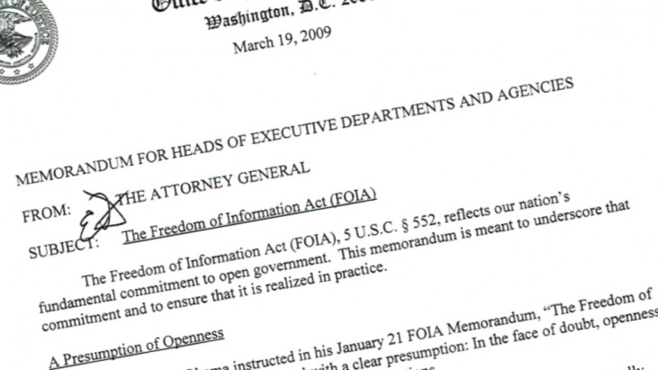 FOIA Policy, Changes & Handbooks