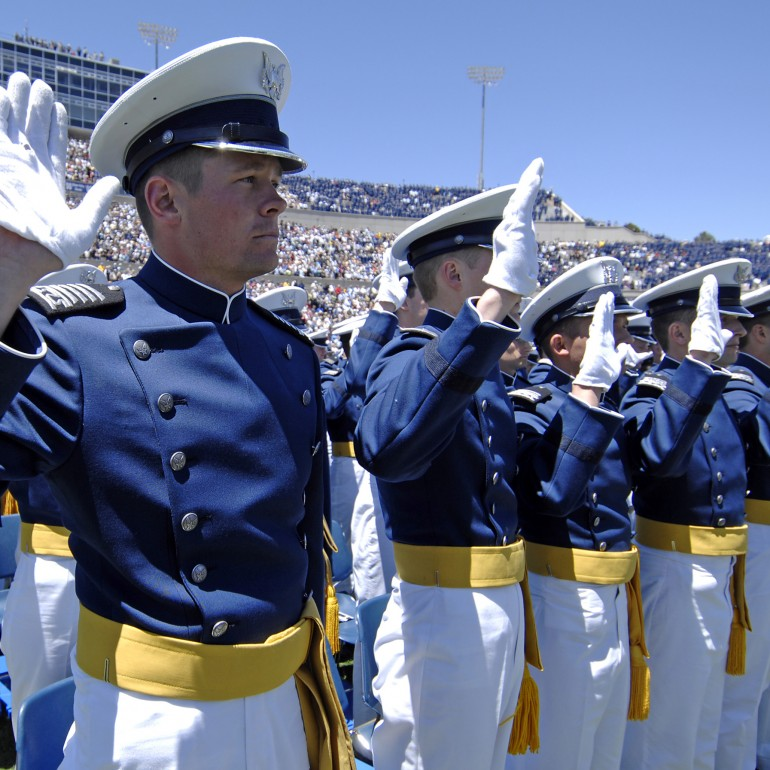"Air Force Honor Oath Makes ""So Help Me God"" Optional"