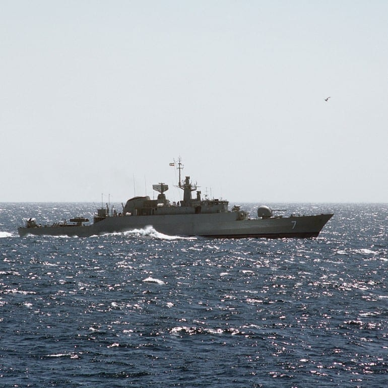 Iranian Warships Dispatched to Gulf of Aden, 05/25/09