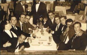 This photograph was taken in a nightclub in Mexico City on 22nd January, 1963. It has been argued by Daniel Hopsicker that the men in the photograph are all members of Operation 40.