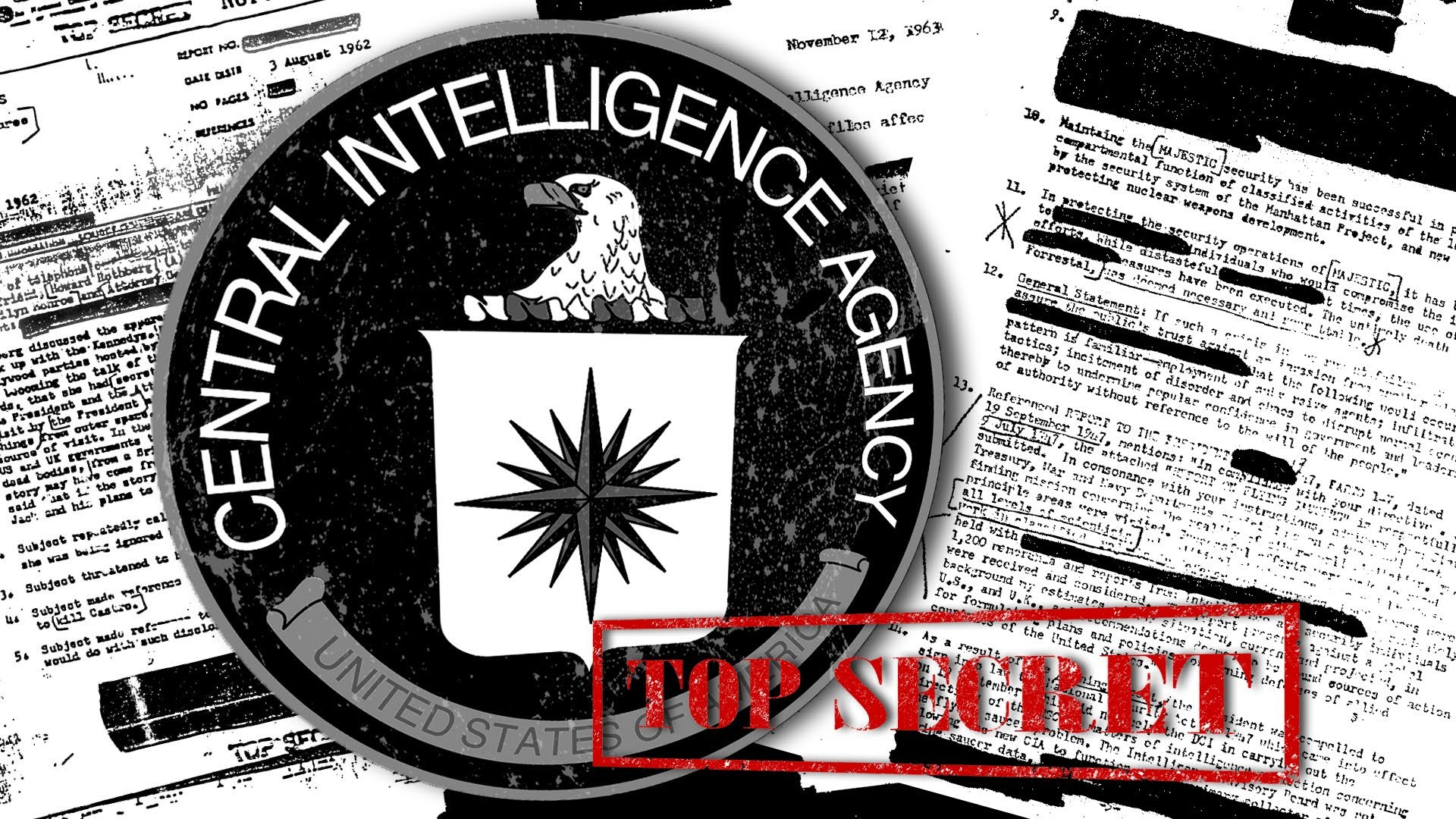 CIA MKULTRA / Mind Control Collection - The Black Vault