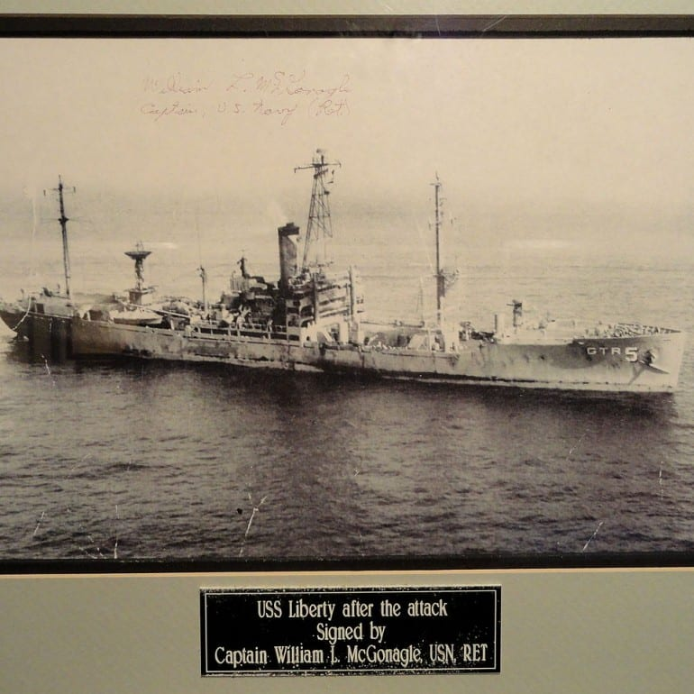 USS Liberty Attack, June 8, 1967