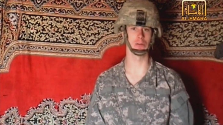 Army Sgt. Bowe Bergdahl for five high-level Taliban prisoners in Guantanamo Bay Trade