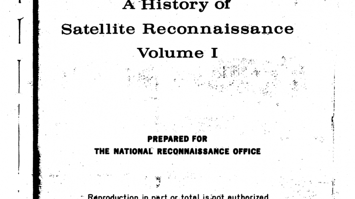 History of Satellite Reconnaissance
