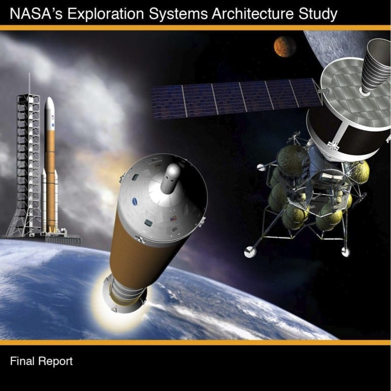 NASA's Exploration Systems Architecture Study