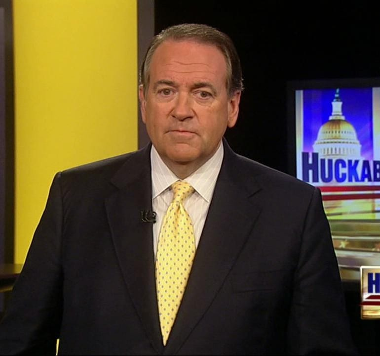 Huckabee on Fox News