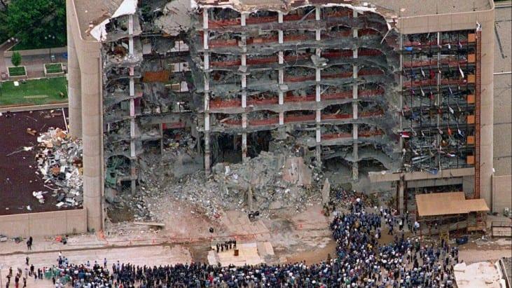 Oklahoma City Bombing, April 19, 1995
