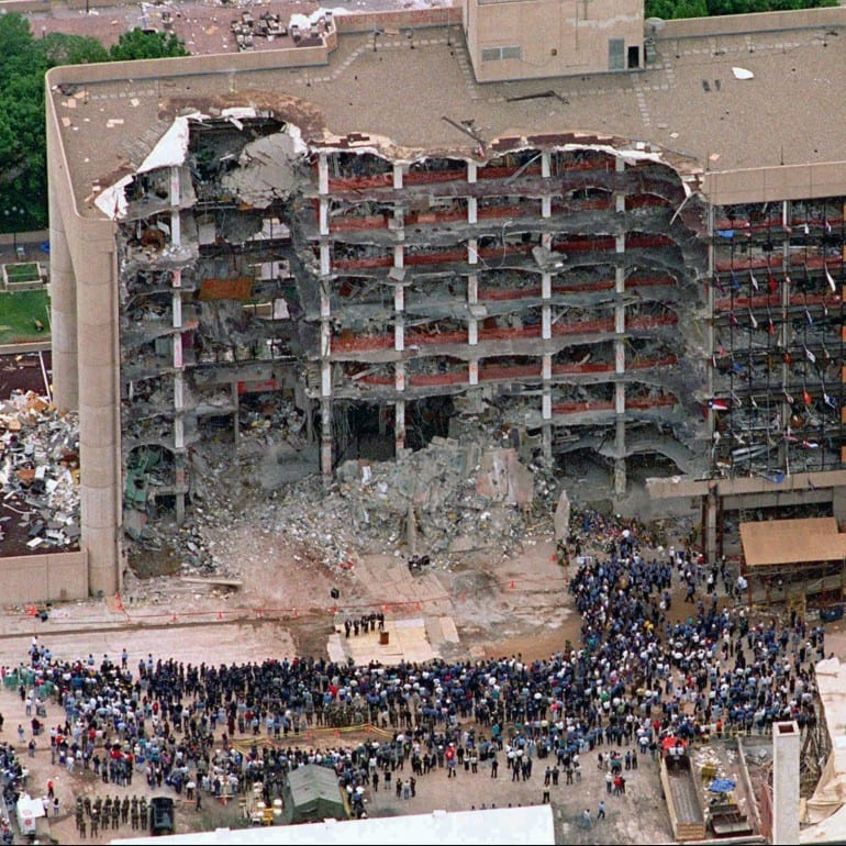 Oklahoma City Bombing, April 19, 1995