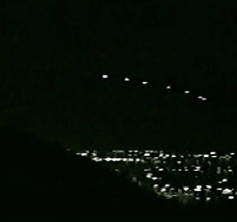 The Phoenix Lights Incident, March 13th, 1997
