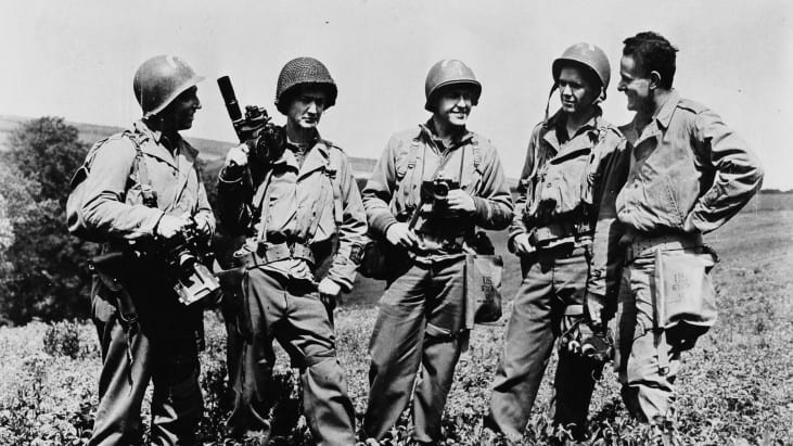 Combat Units of WWII