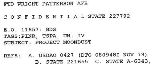 Project Moon Dust