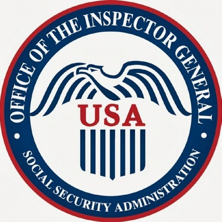 Social Security Administration Inspector General Reports