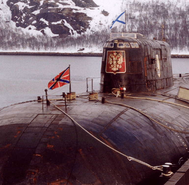 "The Sinking of the K-141 ""Kursk"" Russian Submarine"