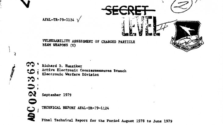 Vulnerability Assessment of Charged Particle Beam Weapons, September 1979