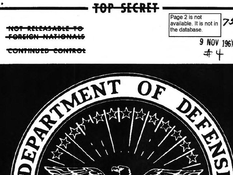 Defense Intelligence Summary Archive