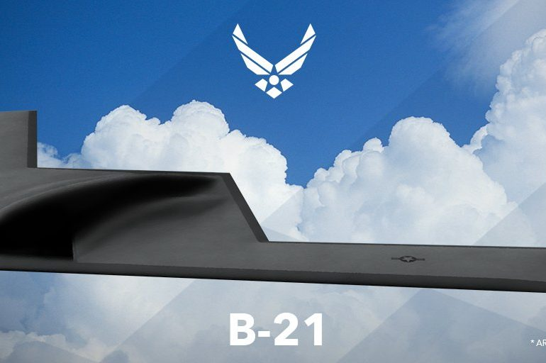 The Northrop Grumman B-21 Raider