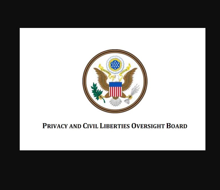 Congressional Correspondence with the Privacy & Civil Liberties Oversight Board (PCLOB), 2014-2016