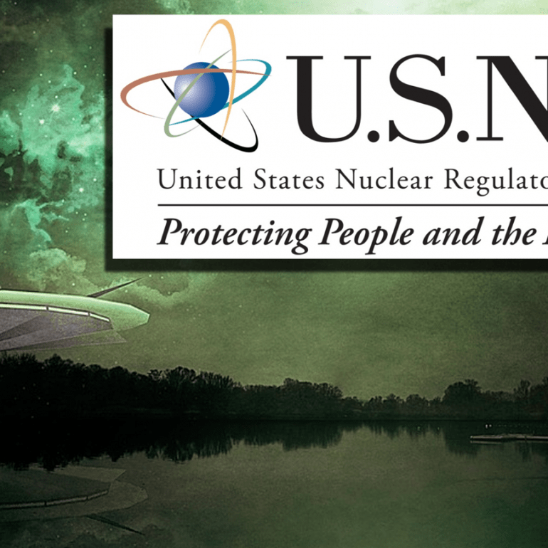 Nuclear Regulatory Commission (NRC) UFO Files Released