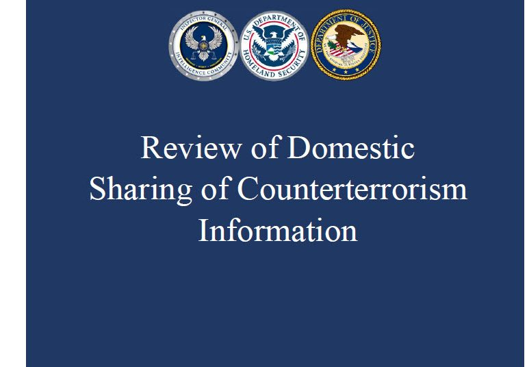 Review of Domestic Sharing of Counterterrorism Information, March 2017