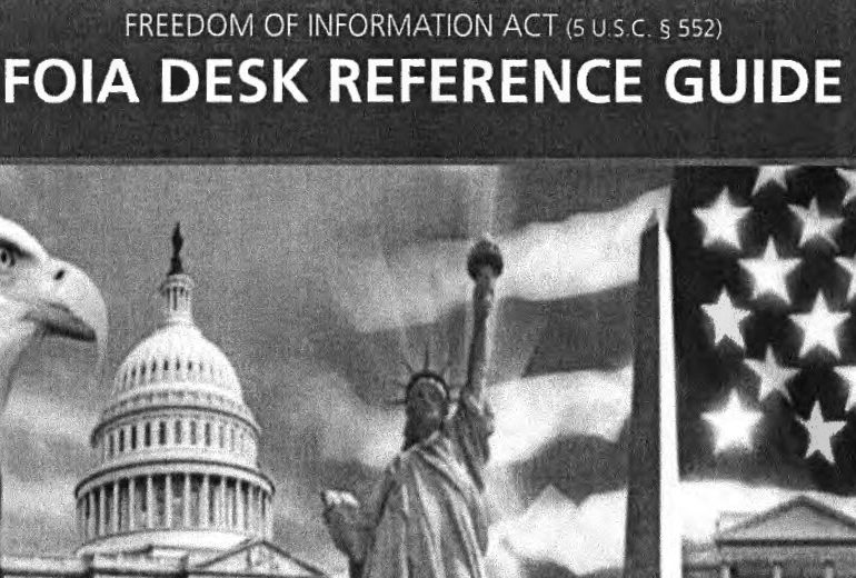 Department of Labor Internal FOIA Desk Reference Guide, September 2010