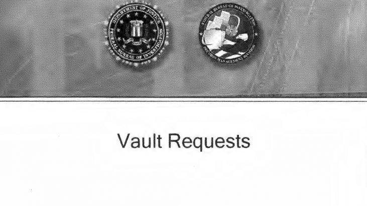 """FBI FOIA """"VAULT"""" Request Procedures, Released 2017"""