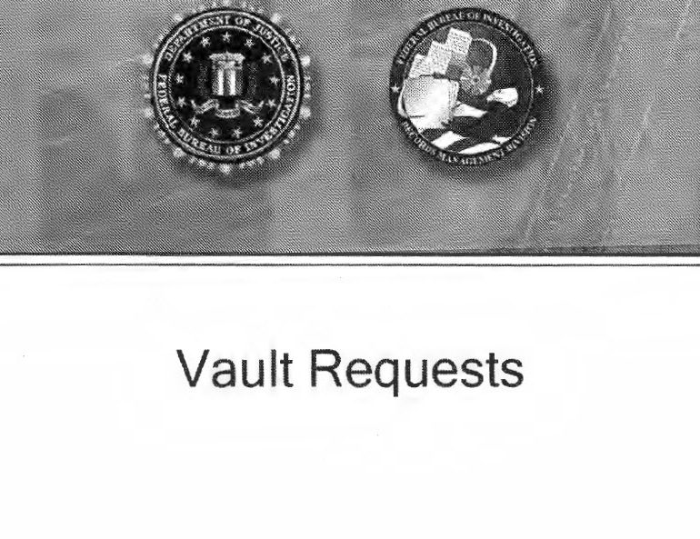 "FBI FOIA ""VAULT"" Request Procedures, Released 2017"