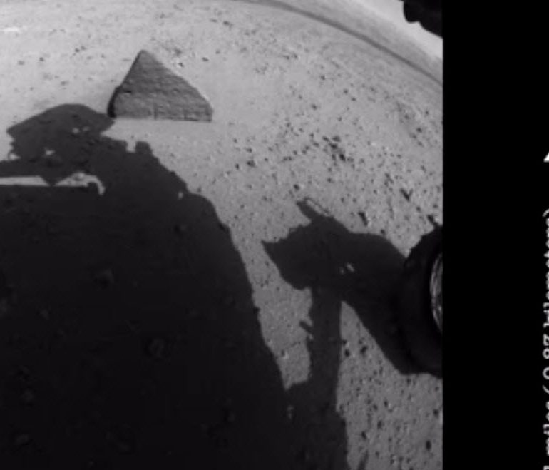 Rover POV – NASA's First Five Years of Curiosity Driving on Mars