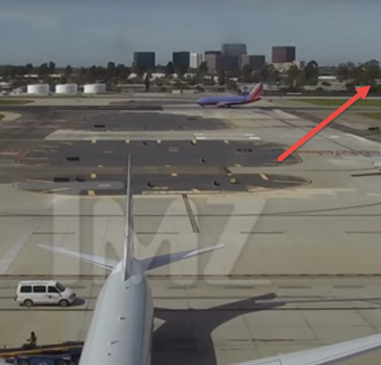 Harrison Ford Incident With Passenger Plane at California Airport, February 13, 2017