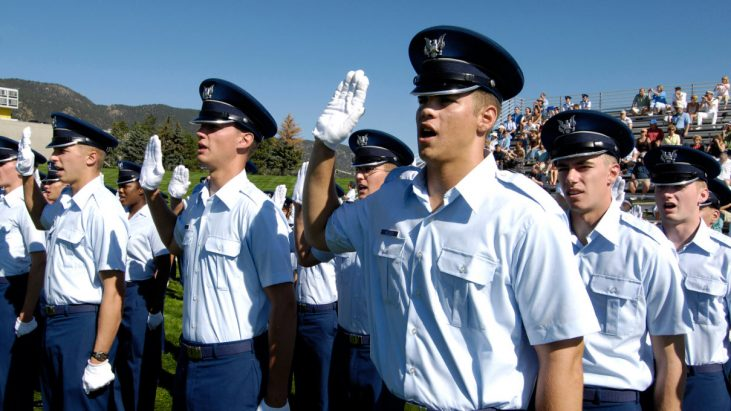 "Air Force Cadets No Longer Required to say ""… so help me God"" at the end of their Oath"